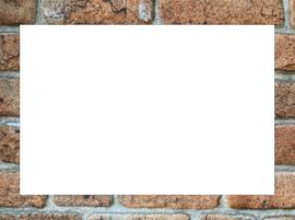 Plexiglas Wit 20x30cm