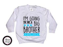 Sweater I'm going to be a big brother