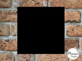 Plexiglas mat zwart 20x20cm