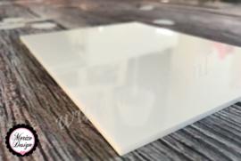 Plexiglas Wit 10x10cm