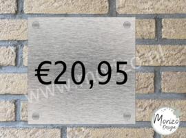 Naambordje €20,95