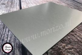 Dibond RVS-look 20x20cm