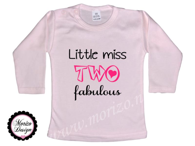Little miss TWO fabulous