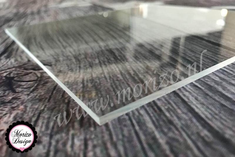 Plexiglas Helder 20x20cm