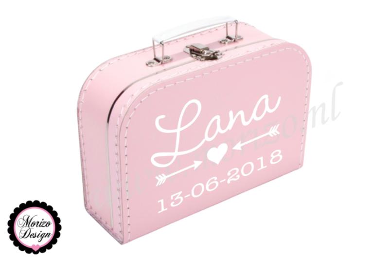 Koffertje *naam* pijlen