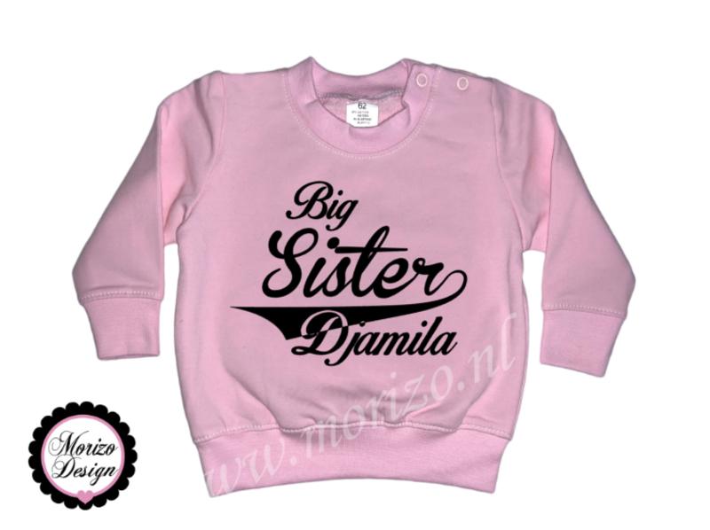 Sweater Big sister *naam*
