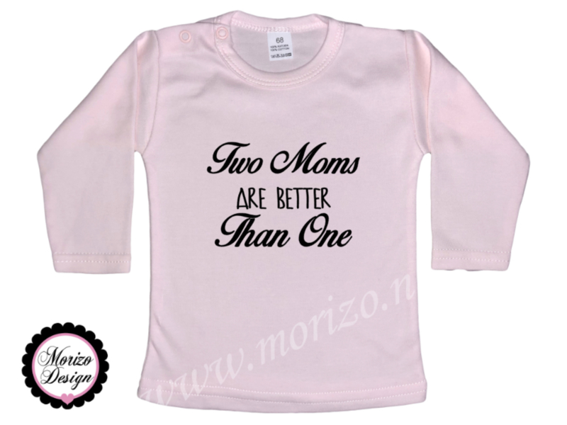 Two moms are better than one