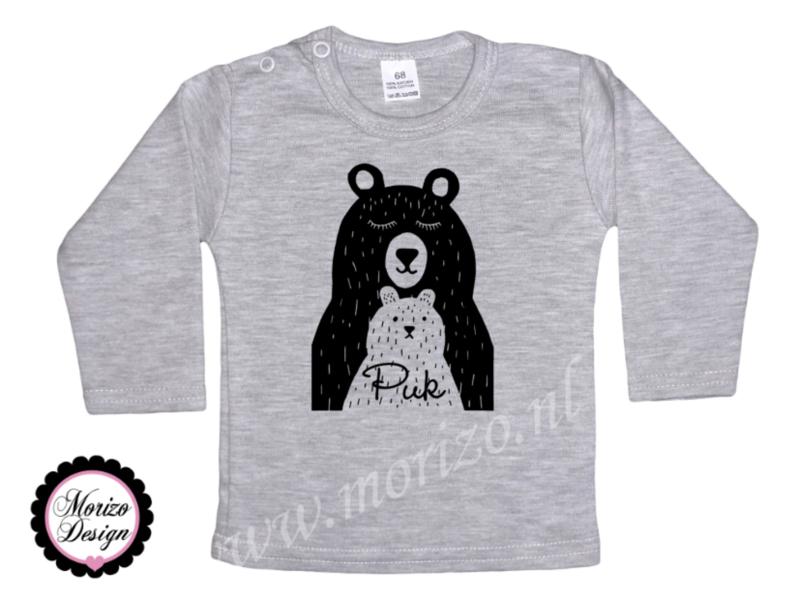Shirt - Grote beer Kleine beer