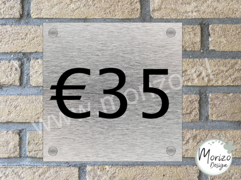 Naambordje €35