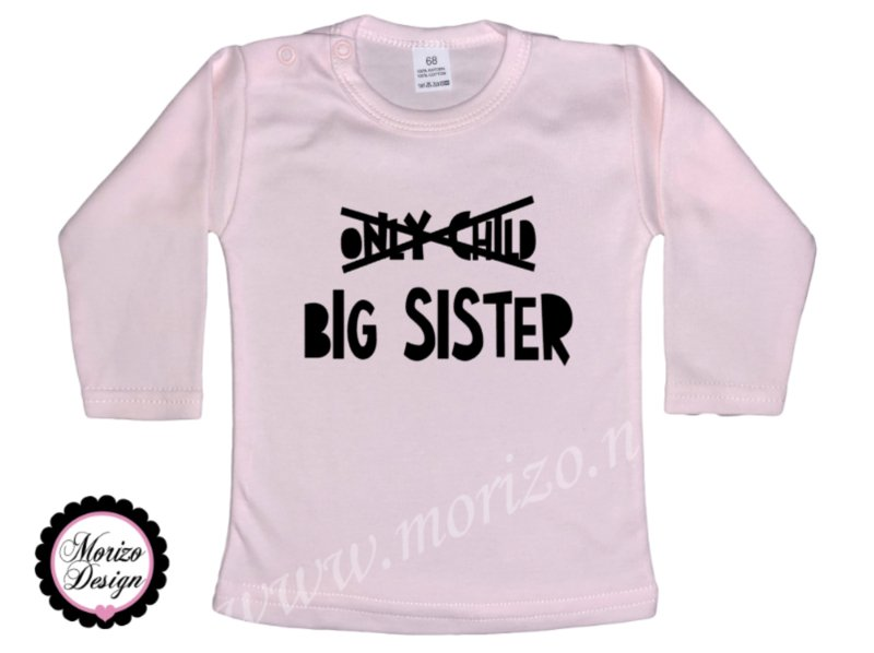 Only child Big sister