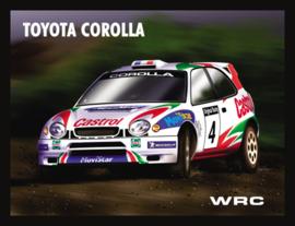 Wandbord metaal Toyota Corolla