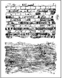 Ziegel und Holz, Clear stamp