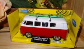 Volkswagen 1962, rood