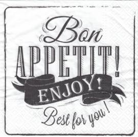 Bon Appetit!, servet