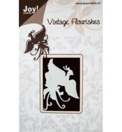 Paradijsvogel, Vintage Flourishes, JoyCrafts