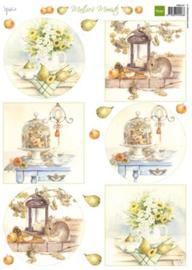 Autumn Bouquets, Mattie´s  Mooiste A4 knipvel