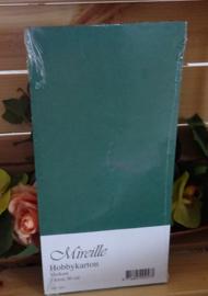 Kerst groen Hobby karton, pak 220 gram