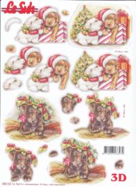 Kersthond, 3d stansvel Le Suh