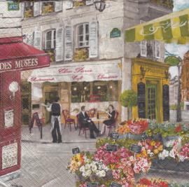 Rue de Paris, servet