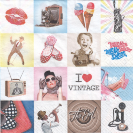 I Love Vintage, servet