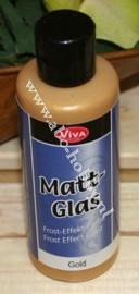 Gold, Matt Glas