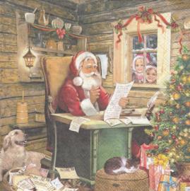 Santa's mail, servet