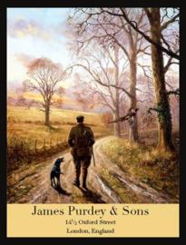 Wandbord metaal James Purdey & Sons