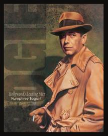 Wandbord metaal Humphrey Bogart