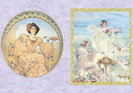Art Nouveau Portraits, To-Do Rice paper