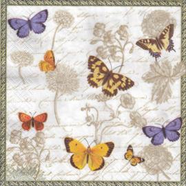 Vintage Butterflies, servet