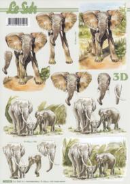 Olifant, 3D Knipvel Le Suh