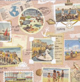 Vacation scrapbook, servet