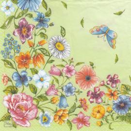 Flowers of Green, servet