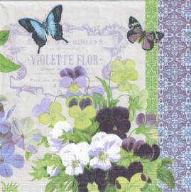 Violets, servet