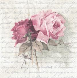 Rose poem, servet