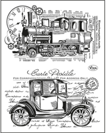 Oldtimer, Clear stamp
