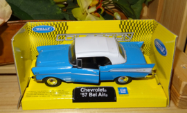 Chevrolet Bel Air, blauw