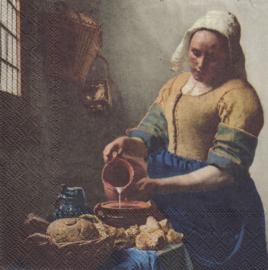 Het Melkmeisje, servet