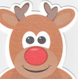 Rudolf het Rendier, servet