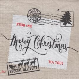Christmas Post, servet