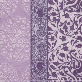 Lilac edge, servet