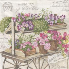 Les Fleurs, servet