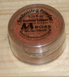 Shimmer Copper, embossing poeder