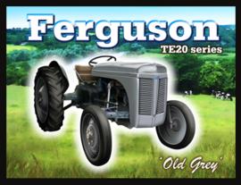 Wandbord metaal Ferguson tractor