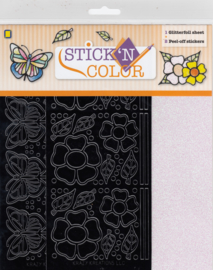 Butterfly, Stick'n color glitterfoil