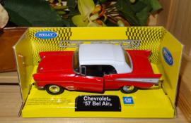 Chevrolet Bel Air, rood