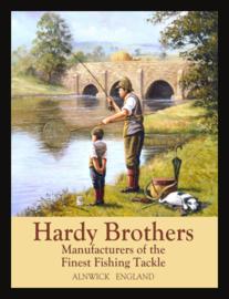 Wandbord metaal Hardy Brothers