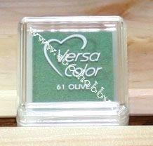 Olive, stempel inkt