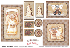 Christmas Angels, To-Do Rice paper