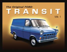 Wandbord metaal Ford Transit